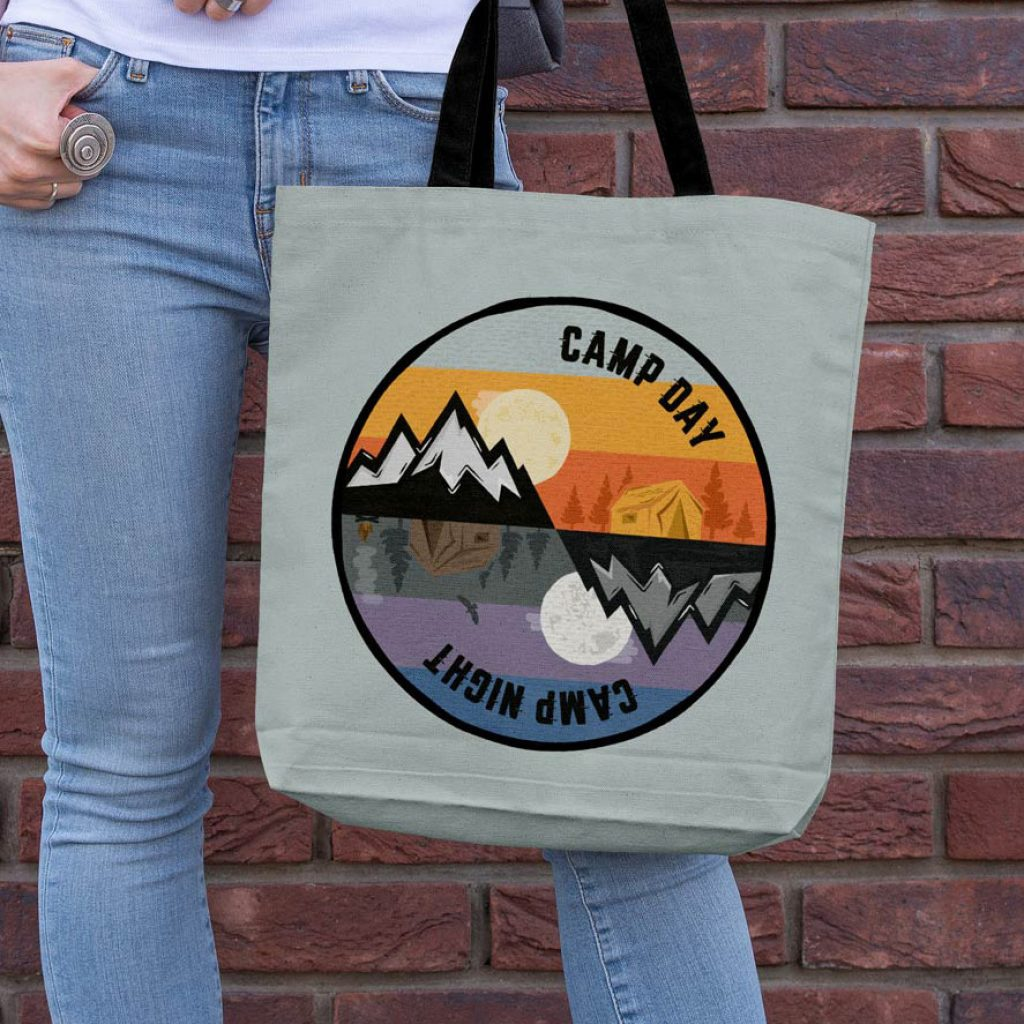 Tote bag. Scout Gifts.