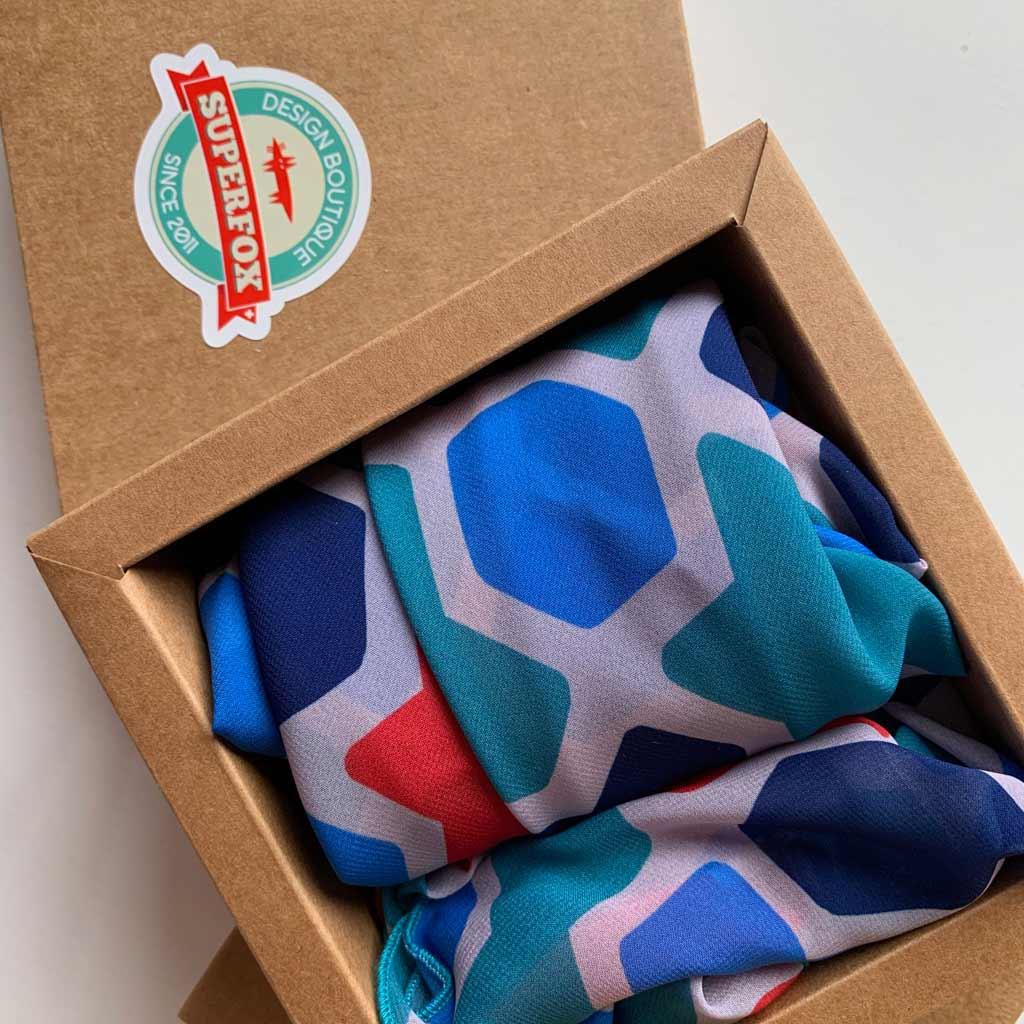 Gift textiles - chiffon scarves